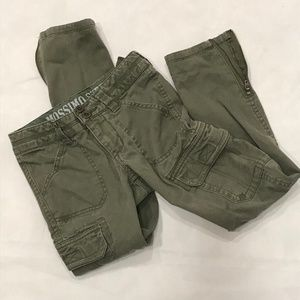 Mossimo Boy's Army Green Cargo Pants